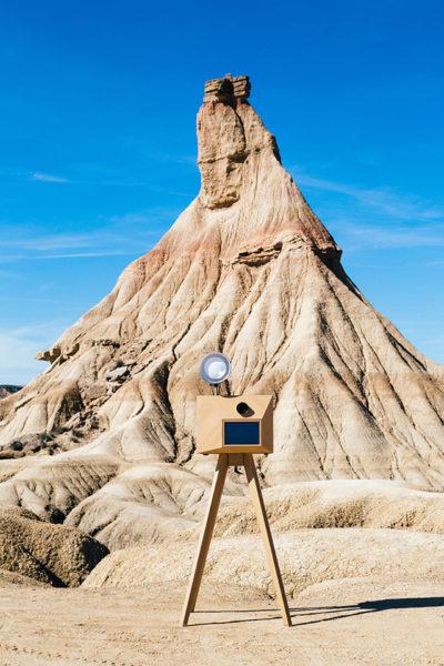 borne photo - shooting en pleine nature
