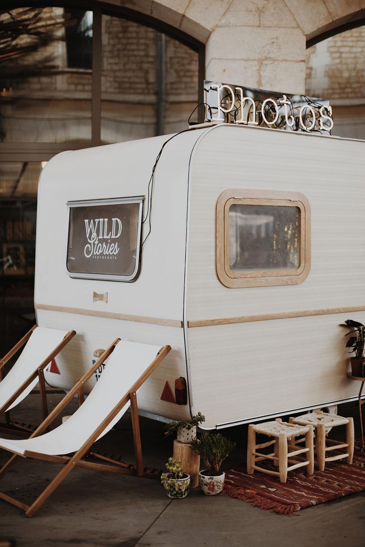 la caravane photobooth - en location à Bordeaux et dans toute la France