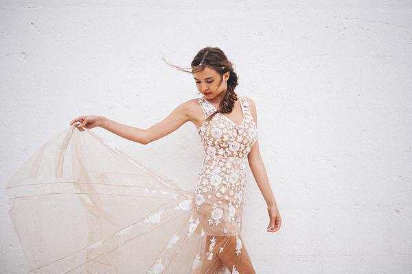 Mariée - robe de créatrice sur mesure