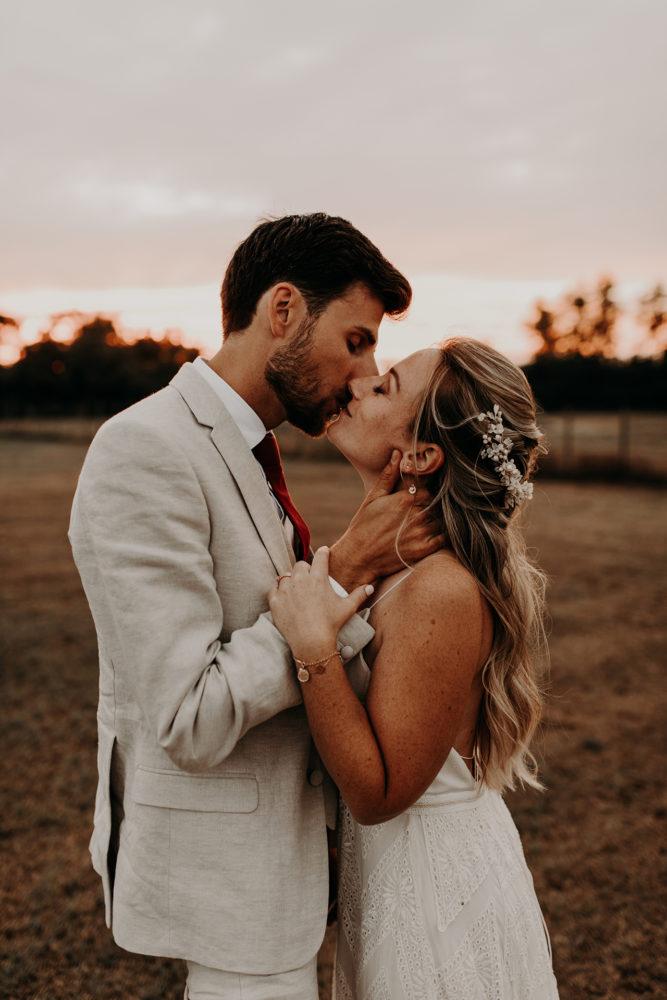 Kelly et Antoine mariage Camargue